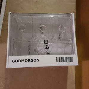 IKEA Godmorgon storage set, 5 containers